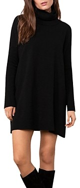 BB Dakota x Steve Madden Hug Me Tight Mini Turtleneck Sweater Dress