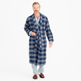 J.Crew Flannel robe in buffalo check