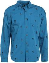 Prana BRODERICK SLIM Shirt river rock blue