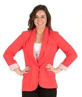 Larry Levine Women's Linen Blend Blazer