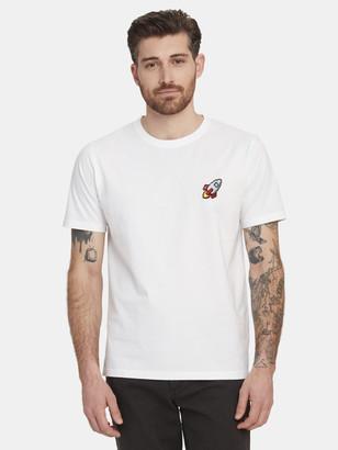 Bricktown Spaceship Crewneck T-Shirt