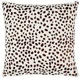 Barneys New York Cheetah-Pattern Calf Hair & Suede Pillow