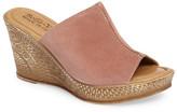 Bella Vita Wedge Slide Sandal - Wide Width Available