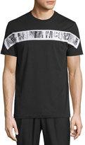 McQ by Alexander McQueen Woodgrain Logo Short-Sleeve T-Shirt