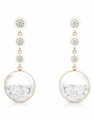 Moritz Glik Diamond Shaker Drop Earrings
