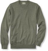 L.L. Bean Cotton/Cashmere Sweater, Crewneck