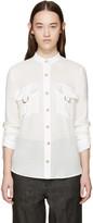 Balmain White Pocket Shirt