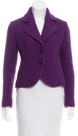 Valentino Fitted Wool Blazer