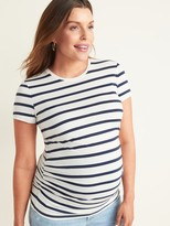 Old Navy Maternity Shirred Crew-Neck Tee