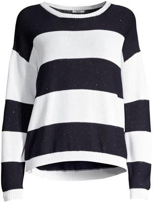 Peserico Knit Colorblock Sweater