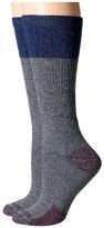 Carhartt Merino Wool Blend Textured Crew Socks 2-Pair Pack
