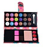 26Colors Cosmetic Eyeshadow Blush Lip Gloss Powder Makeup Palette (Pink)