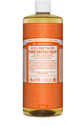 Dr. Bronner's Organic Tea Tree Castile Liquid Soap 946Ml