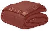 Melange Home Down Alternative Full/Queen Micro Fiber Blanket - Marsala