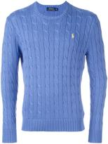 Polo Ralph Lauren cable knit sweater - men - Cotton - XL
