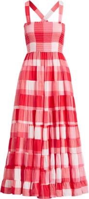 Ralph Lauren Plaid Cotton Maxidress