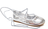 Jelly Beans Silver Move Ballet Flat