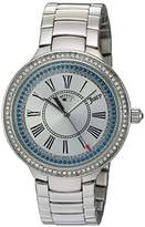 Juicy Couture Women's 'CATALINA' Quartz Stainless Steel Casual Watch, Color:Silver-Toned (Model: 1901550)