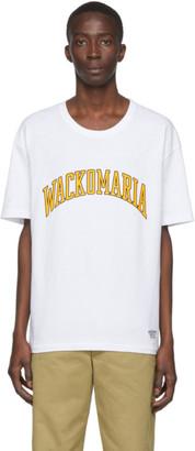 Wacko Maria White Football T-Shirt
