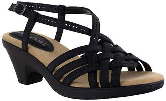 Easy Street Shoes Womens Jackson Heeled Sandals