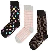 Happy Socks Shapes & Arrows Socks (3 PK)