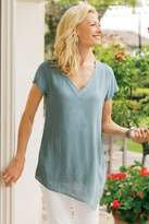 Soft Surroundings Mindy Double Layer Top