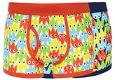 Red Herring Pack Of Two Navy And White Ghost Printed Trunks