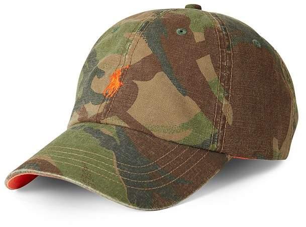 Polo Ralph Lauren Camouflage-Print Pony Baseball Cap