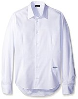 Just Cavalli Men's Striped Sportshirt