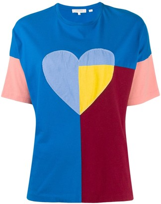 Chinti and Parker heart print T-shirt