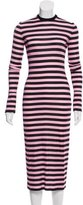 Givenchy Striped Midi Dress w/ Tags