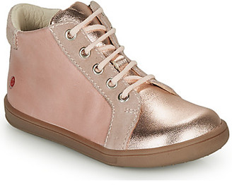 GBB FAMIA girls's Shoes (High-top Trainers) in Pink