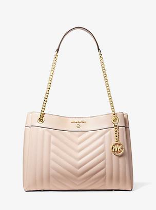 Michael Kors Susan Medium Quilted Leather Shoulder Bag
