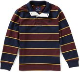 Brooks Brothers Big Boys 8-20 Mock-Neck Long-Sleeve Striped Shirt