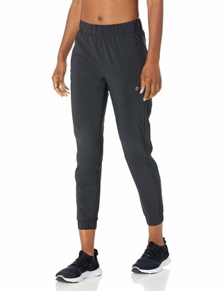 Core 10 Amazon Brand Women's City Collection Woven Slim Fit Jogger