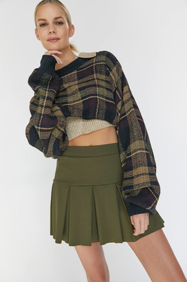 Urban Outfitters Pleated Tennis Mini Skirt
