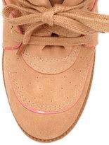 Schutz Saint Bridget Wedge Sneaker, Caramel
