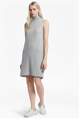 French Connection Sudan Mock Neck Sleeveless Dress