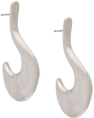 Marni Structured Hook-Shaped Earring