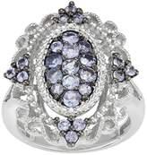 Kohl's Sterling Silver Tanzanite & Diamond Accent Filigree Ring