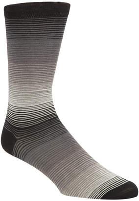 Cole Haan Men Gradient-Stripe Socks