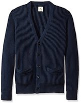 Dockers Long Sleeve Button Front Cotton Cashmere Cardigan