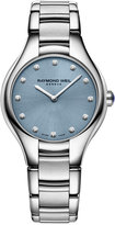 Raymond Weil Women's Swiss Noemia Diamond Accent Stainless Steel Bracelet Watch 32mm 5132-ST-50081