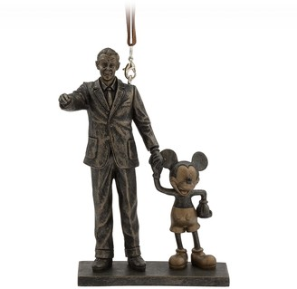 Disney Walt and Mickey Mouse ''Partners'' Figural Ornament