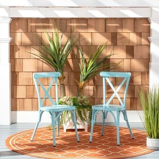 Safavieh Outdoor Living Axton Stackable Side Chair