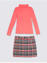 Marks and Spencer Two Piece T-Shirt & Skirt Outfit (3-14 Years)