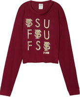 PINK Florida State University Long Sleeve Campus Cutout Tee
