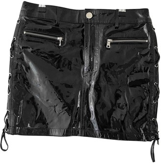 Filles a papa Black Patent leather Skirts
