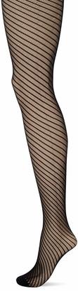 Charnos 1Pp Spiral Net Tight - Black - Small/Medium