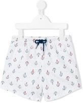 Sunuva - anchor print swim shorts - kids - Polyester - 2 yrs